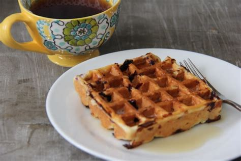 Cottage Cheese Waffle Recipe by Cottage Cheese Waffles With Blueberries Newman S Nest