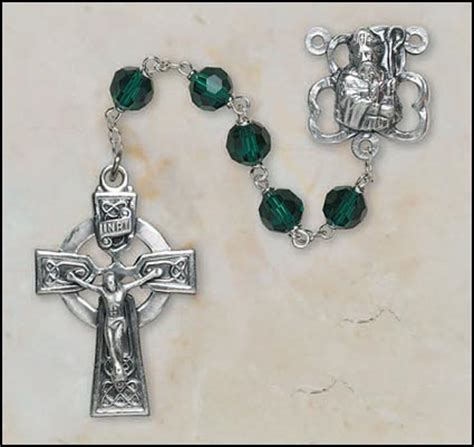 celtic cross with rosary gifts celtic cross rosary with