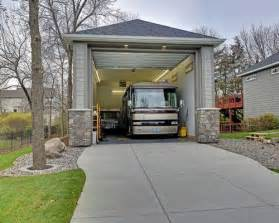 motorhome garage rv garage houzz