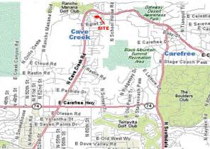 map of creek arizona rancho verde location