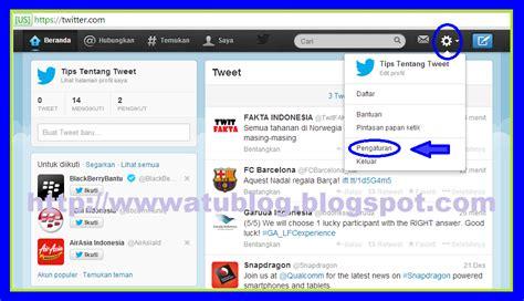 contoh bio pada twitter cara mudah menonaktifkan akun twitter pentingnya bisnis
