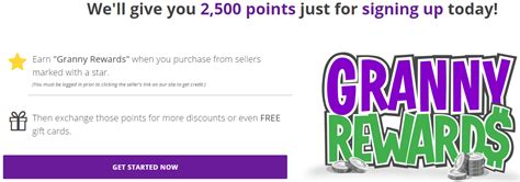 Gift Card Sign Up - granny rewards loyalty program receive 5 saveya egift card for 1 000 in gift card