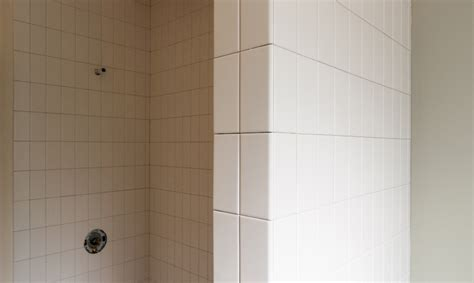 Tiling A Shower Wall Corner by Lessons In Tile Build