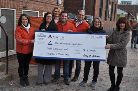 Milestone Detox Maine by Shop For A Cause Day Raises 8 000 For Milestone