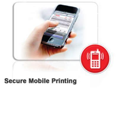 mobile printing uniflow