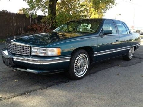 automobile air conditioning service 1995 cadillac deville parking system find used 1995 cadillac deville 4 door in buffalo new york united states for us 4 500 00