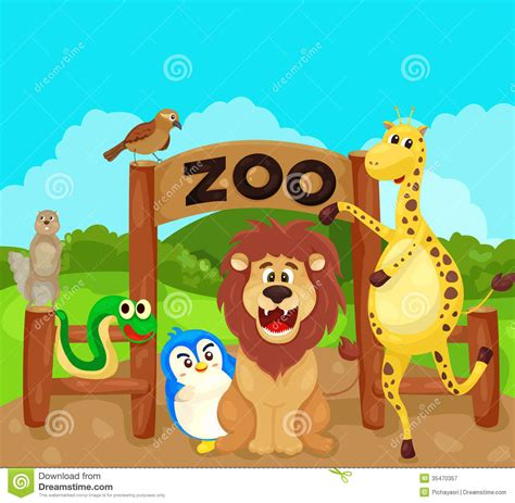 zoo animal clipart clip zoo animals clipart bay