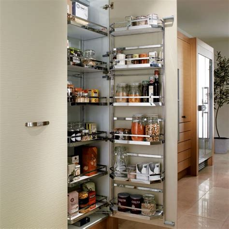 Kitchen Larder Cupboard Storage Pull Out Larder From Metris Kitchen Storage 10 Of The