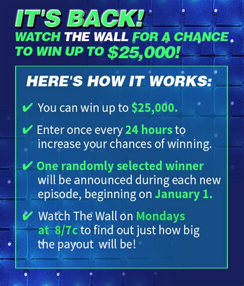 The Wall Nbc Sweepstakes - nbc s the wall win at home 10 000 cash sweepstakes