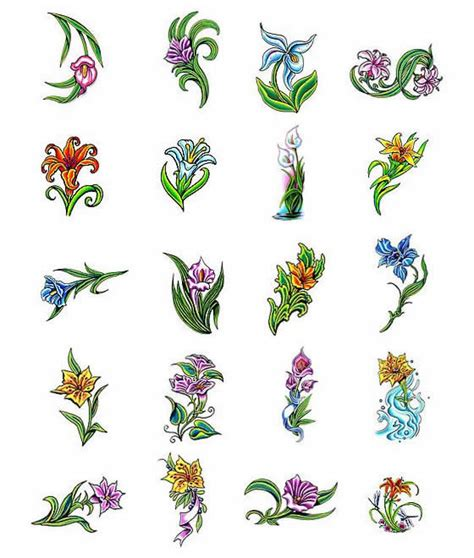 small lily flower tattoos tattoos what do they lilly tattoos designs