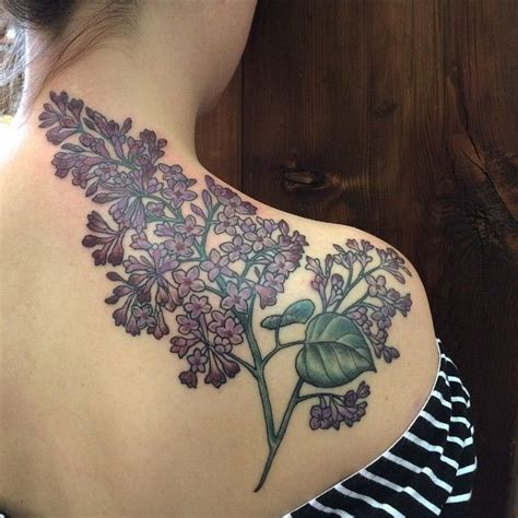 garden city tattoo best 25 lilac ideas on columbine
