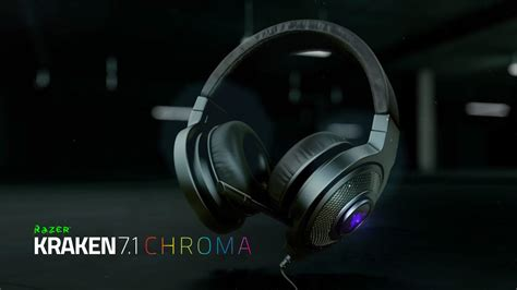 Headphone Razer Kraken Chroma razer kraken 7 1 gaming headset review