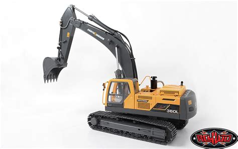 Rc Power Truck Escavator 1 14 scale earth digger 360l hydraulic excavator rtr