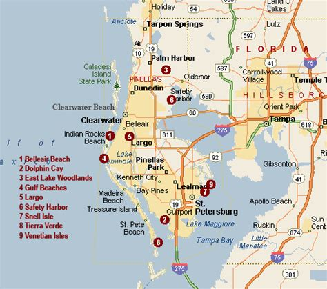 map of clearwater florida clearwater fl pictures posters news and on your