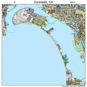 coronado california map 0616378