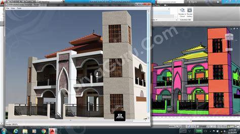 Tutorial Autocad Rendering | autocad 3d rendering autodesk community