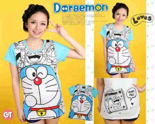 Raglan Doraemon Doraemon 06 baju karakter anak dan abg kaos doraemon