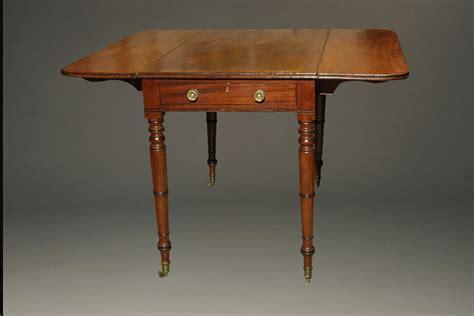Vintage Drop Leaf Table by Antique Federal Style Drop Leaf Table