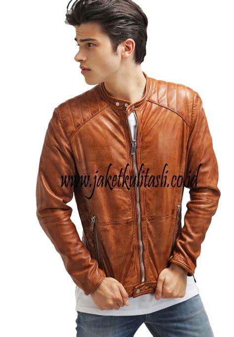 Jual Jaket Kulit Pria Terbaru jaket kulit pria a499 jual jaket kulit asli terlengkap