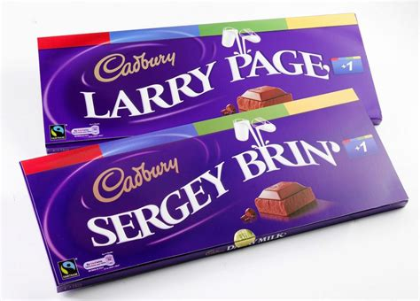 cadbury chocolates for goolge founders just amazing things