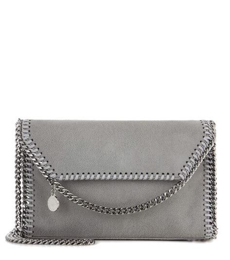 Stella Mccartney Felt And Plastic Bag by Stella Mccartney Falabella Shaggy Deer Shoulder Bag In