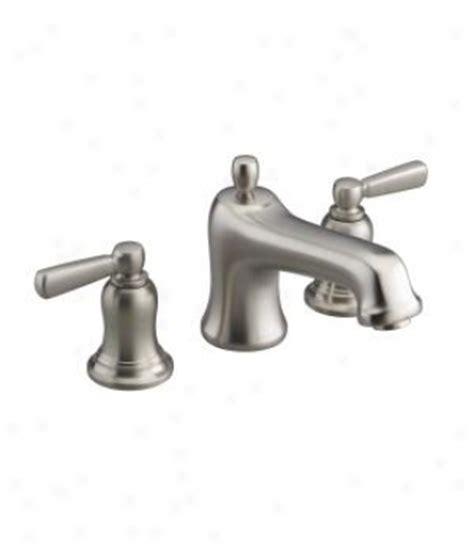 Harden Bathroom Faucets by Kohler K 1357 Gra 58 Devonshire 5 Bubblemassage Bath With