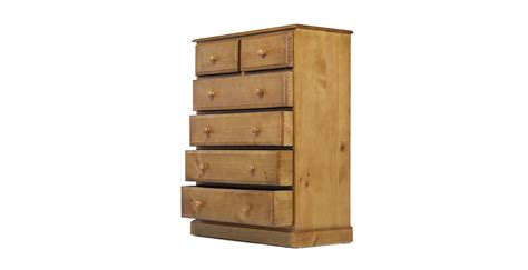 Country Pine Chest Of Drawers by Country Pine 6 Drawer Chest Of Drawers Lifestyle