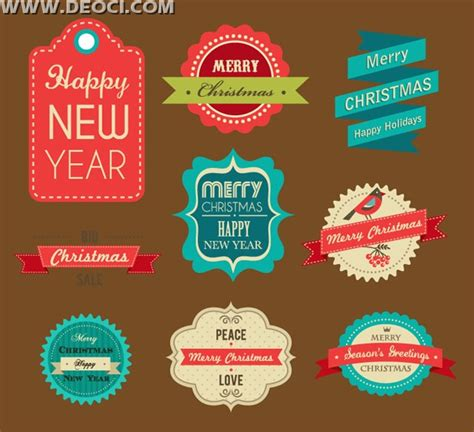 beautifully vintage vector design template eps