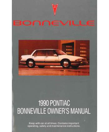 free auto repair manuals 2004 pontiac bonneville electronic toll collection service manual free 1990 pontiac bonneville repair manual service manual how to adjust idle