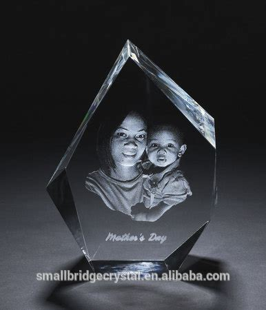 3d laser engraved cube shape photo frame buy