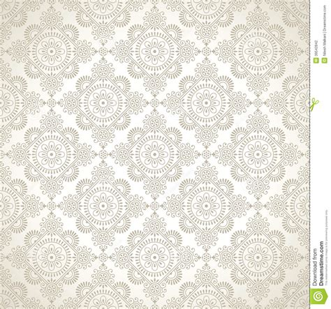 wall pattern design vector seamless traditional wallpaper design stock vector image