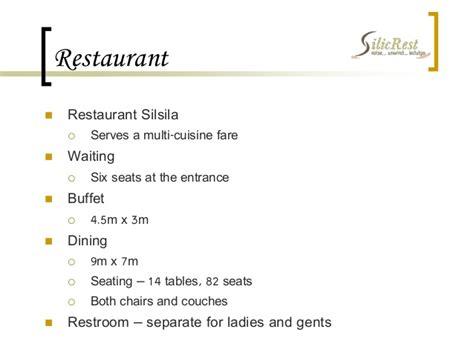 restaurant layout case study case study hotel silicrest