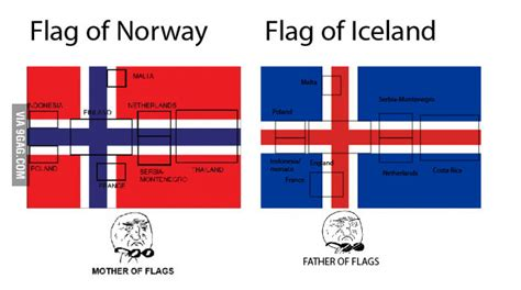 flags of the world norway norway in t the only one with many flags