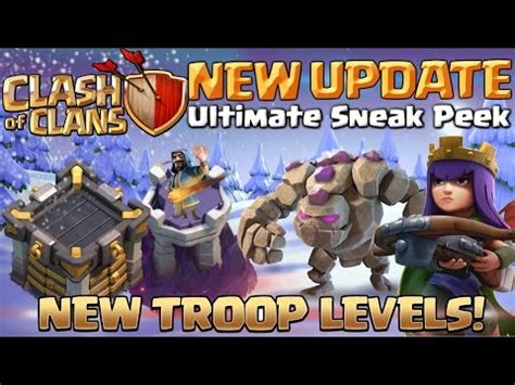clash of clans boat update review coc new update 2016 mobile phone portal