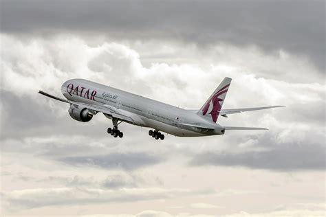 qatar airways qatar airways takes delivery of its 50th boeing 777