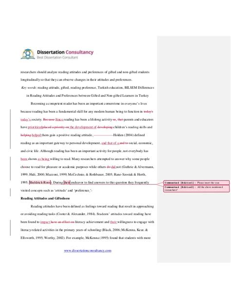 proofreading dissertation dissertation consultancy proofreading sle