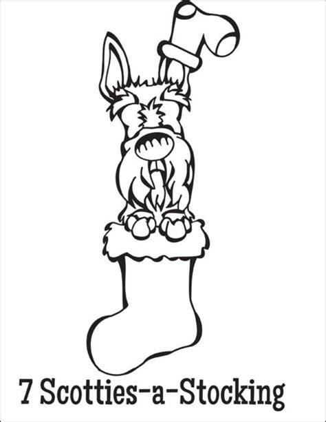 scottie dog coloring page 1000 images about scottie patterns on pinterest