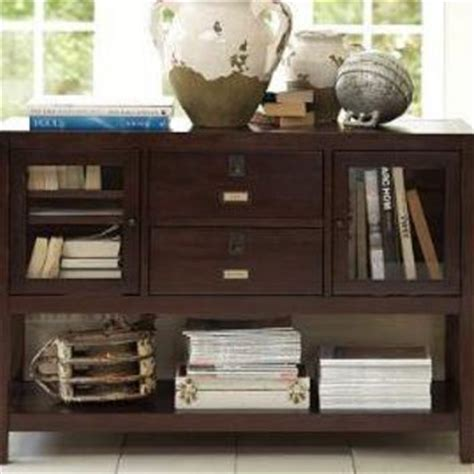 pottery barn media console rhys rhys console table pottery barn from pottery barn for