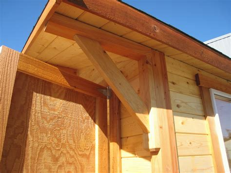 Roof Corbels mighty cabanas and sheds pre cut cabins sheds play houses storage buildings seattle tacoma