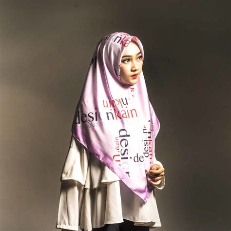Printing Galeaa Scarf Bahan Voal premium quality print low price free design