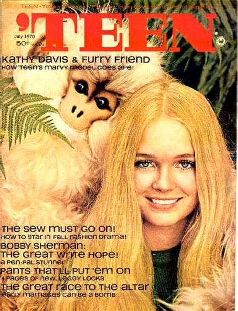 school teenage girls vintage magazine 34 best kathy davis images on pinterest