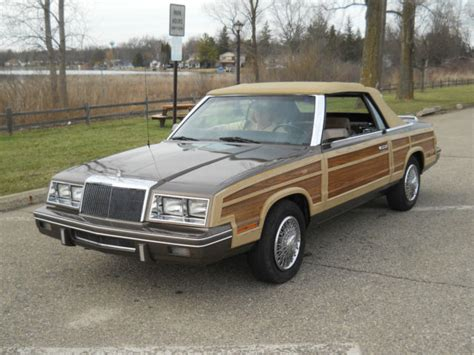 1984 Chrysler Lebaron by 1984 Chrysler Lebaron Woody Town Country
