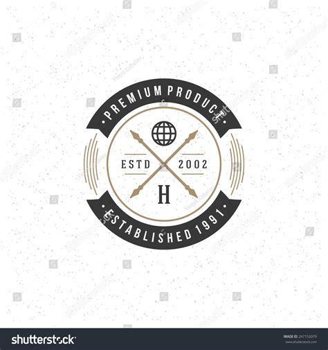 vintage badge vector www pixshark com images galleries
