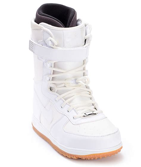 nike zoom 1 white mens snowboard boots at zumiez pdp