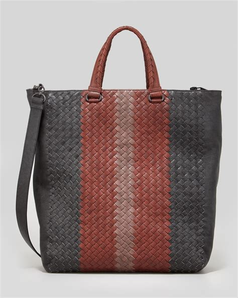 Bottega Veneta Deerskin Woven Tote by Bottega Veneta Mens Multicolor Woven Shoulder Tote Bag
