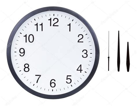 minute hand and hour hand template for crafts