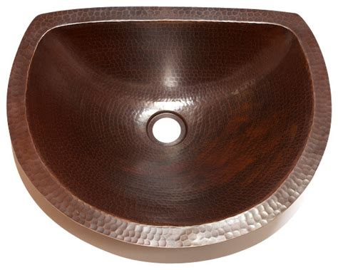 flat bathroom sinks oval bathroom copper sink with flat back and flat rim