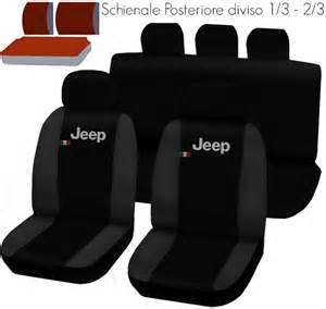 Seat Cover Jeep Renegade Jeep Renegade Two Coloured Seat Covers Black Grey