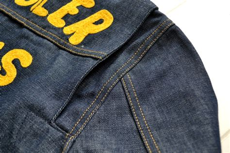 Promo Jeansdenim Levis Blue Kw wrangler blue bell 11mj reproduction chion jacket from