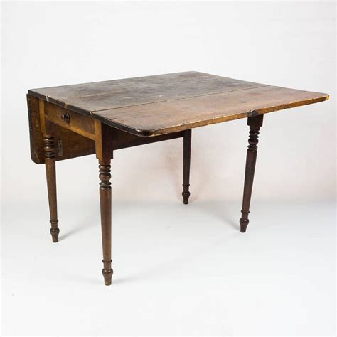 kitchen tables with leaf edwardian drop leaf kitchen table at 1stdibs
